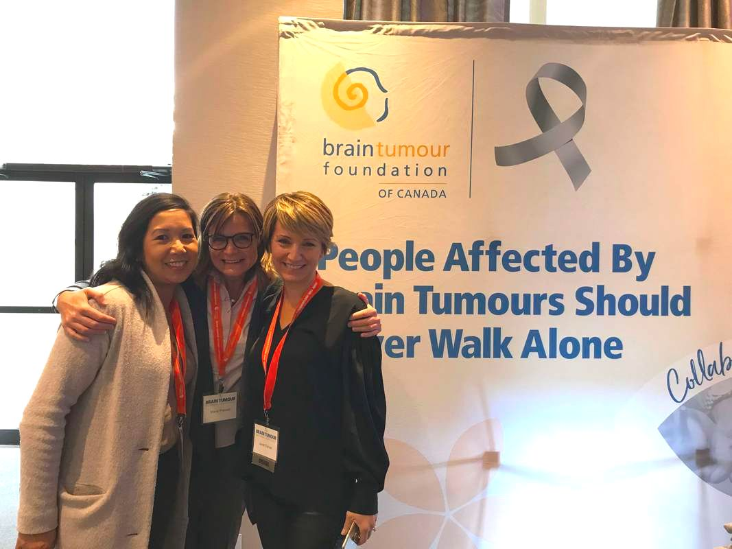 Abbvie employees, Sharon, Marie, nurses, community relations, Brain Tumour Foundation of Canada conference, Toronto conference, #braintumourconf18, volunteering, volunteers, blog, story, friends
