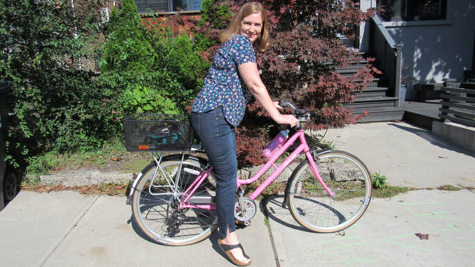 Margaret Harvey, My BeST, St. Michael's Hospital, Trauma Support Network, pink bicycle, cycling accident, trauma victim, trauma, Riverdale, Toronto, therapy, surgery, support group, young woman, American Trauma Society, John Hopkins