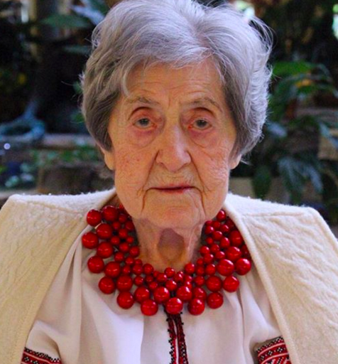 Anastasia Belbas is a Centenarian living in Toronto, 103 years old, and is a Ukrainian senior who shares her wisdom on dealing with hardship