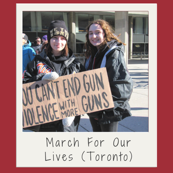 Anti-gun movement March For Our Lives comes to Toronto