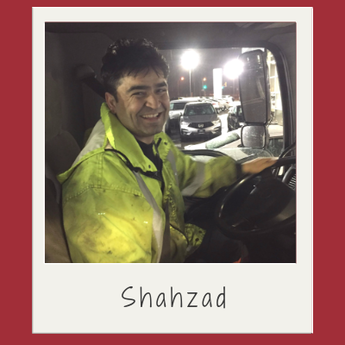 Shahzad, moved from war torn Afghanistan for a better life in Canada
